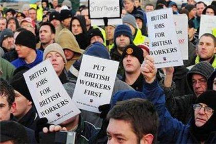 İngiltere'de grev hazırlığı