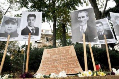 Kadıköylüler parkı Şehitler Anıtı'na dönüştürdüler