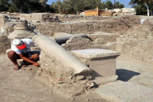 Arkeolojik kazıdan 'muayenehane' çıktı