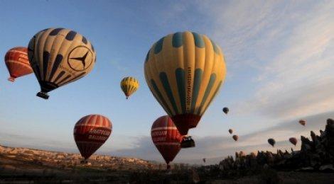 Balon turizmi yüz güldürüyor
