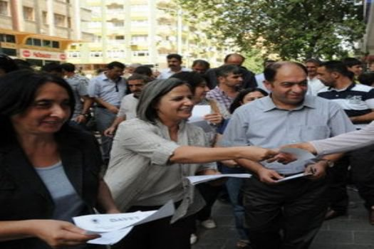 BDP, Diyarbakır'da 1 Eylül mitingi düzenliyor