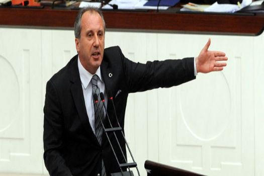 CHP'li İnce'ye AK Parti alkışı