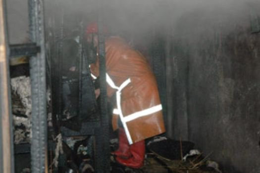 Evde LPG tüpü patladı: 1 ağır yaralı