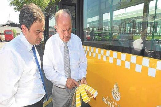 İstanbul'un otobüsleri 'damalı' olacak