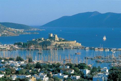 Türkiye'de ki St. Tropez; Bodrum