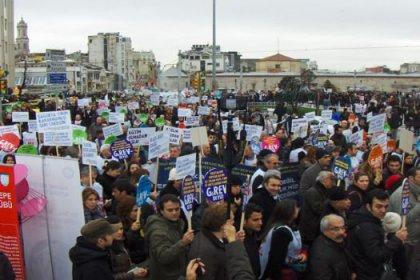 21 Aralık öncesi 'siyah' yürüyüş