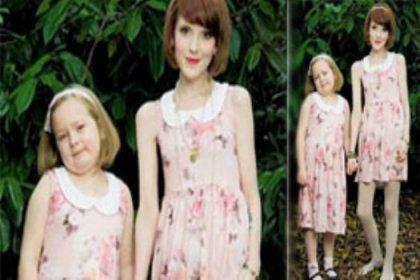 7 yaşındaki kızından daha zayıf