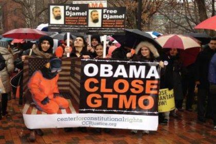 ABD'de Guantanamo protestosu