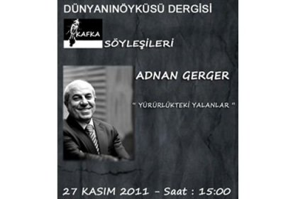 Adnan Gerger, özel söyleşisi Ankara'da