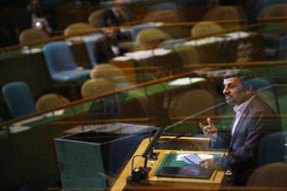Ahmedinejad'ı BM'de dinlemediler
