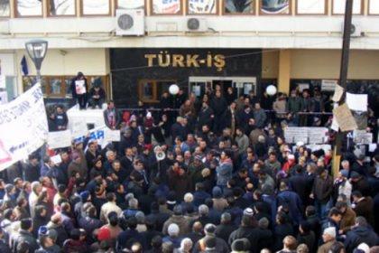 AKP saldırdı Türk-İş hep seyretti