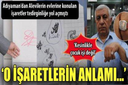 'Alevilerin evlerine majiskülle 'Ali' yazılmış'