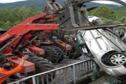 Amasya'da kaza: 1 ölü