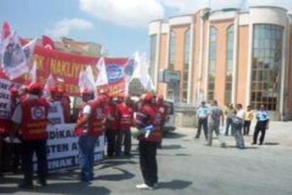 Ambar işçileri direnişte