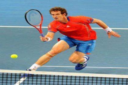 Andy Murray, Brisbane'de zorlandı