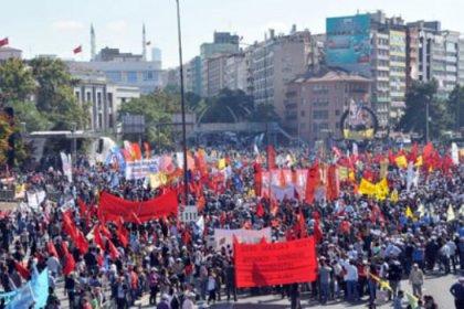 Ankara mitinginde 25 bin kişi yürüdü