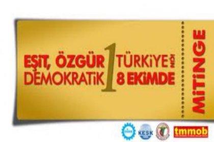 Ankara'da büyük mitinge hazır