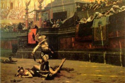 Antik Roma'nın ölüm arenası Colosseum