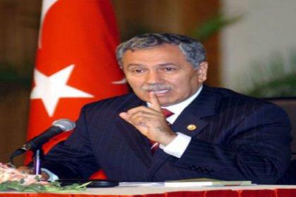 Arınç: PKK Başbakanlık ile görüşüyor demek iftiradır