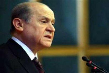 Bahçeli: Siyaset AKP'yle iflasın eşiğinde