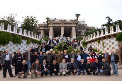 Barcelona'da öncelik meydanların ve yayaların
