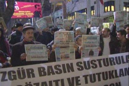 Başkentte KCK protestosu