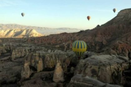 Bayramda tatilcilerin tercihi Kapadokya