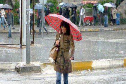 Bayramda yağmur sürprizi