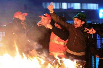 Belçika'da Genel Grev Hayatı Durdurdu