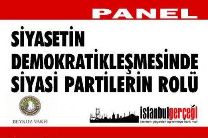 Beykoz'da Demokrasi Panel'i