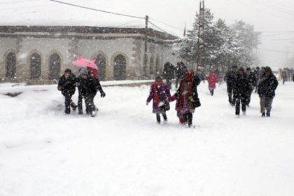 Bitlis'te Okullar 2 Gün Tatil