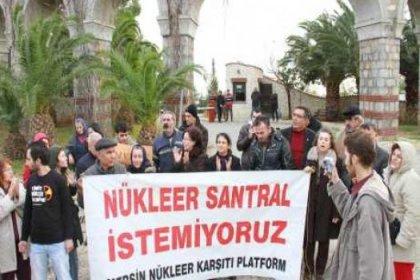 Çevreciler, Nükleer Santral Bilgilendirme Toplantısını Protesto Etti