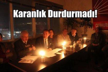 CHP Başakşehir'i Karanlık Durdurmadı