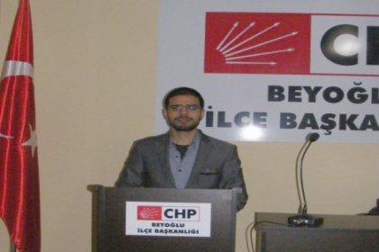 CHP Beyoğlu Gençlik Örgütüne Başkan Adayı