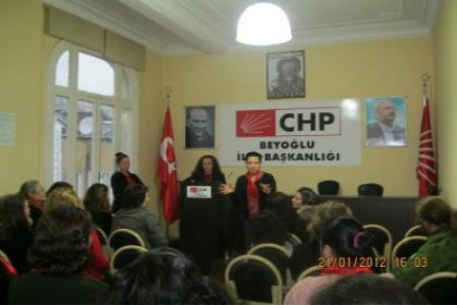 CHP Beyoğlu Kadın Kolları başkan adayı Münevver Metin