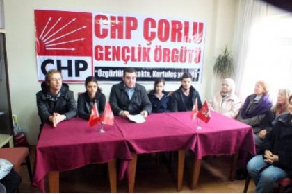 CHP Çorlu'dan Şehit Kubilay açıklaması