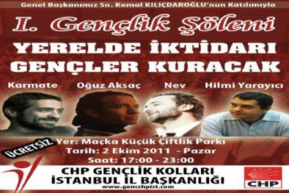 Chp İstanbul Gençliğinden Şölen