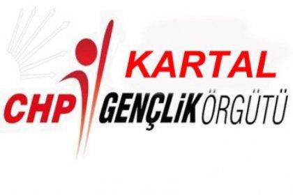 CHP Kartal Gençlik Örgütünde Görev Değişimi