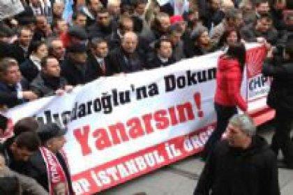 CHP'den Fezleke Protestosu