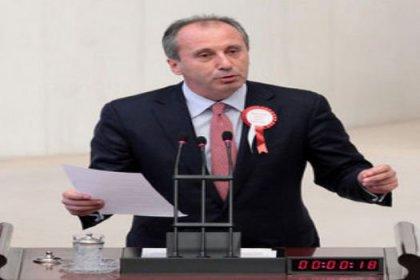CHP'li İnce : '' Önce Tutarlı Bir İktidar Sonra Çözüm ''