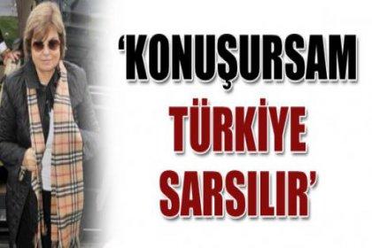 Çiller: ''Ben Konuşursam Türkiye Sarsılır''