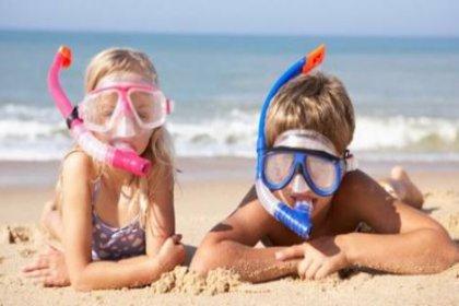 Çocuklu tatile 'baby beach'