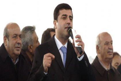 Demirtaş: Sayın Öcalan'ı dışarı çıkarın