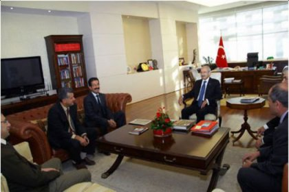 DİSK, KESK, TMMOB ve TTB'den CHP'ye Ziyaret