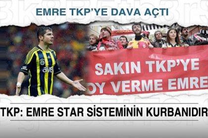 Emre Belözoğlu TKP'ye dava açtı