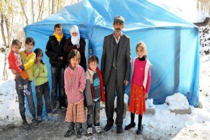 Erciş'te soğuk can almaya başladı