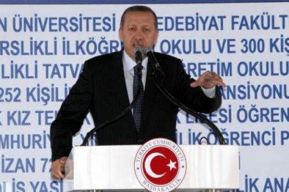 Erdoğan Bitlis Eren Üniversitesinde Konuştu