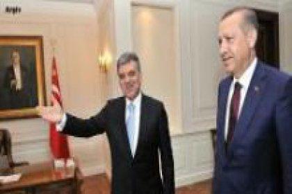 Erdoğan ve Özel'i kabul etti
