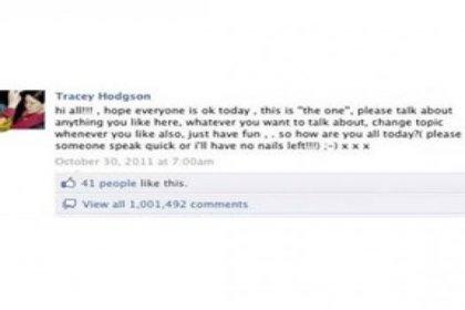 Facebook'ta rekor kırdılar!