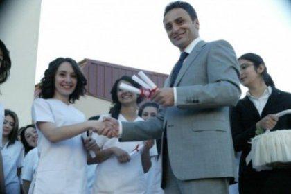 Gebze'de sağlıkçılar mezun oldu